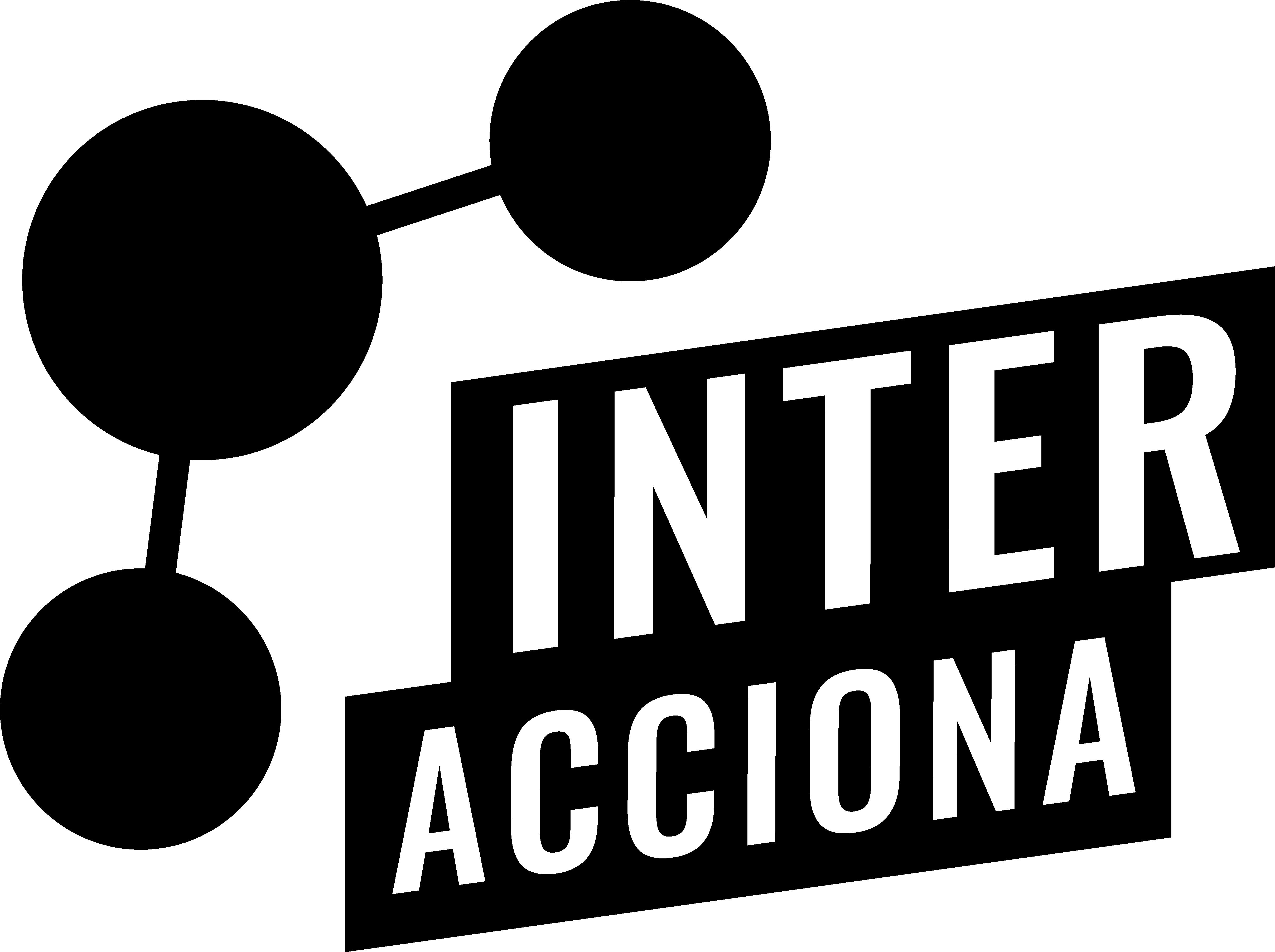 logo de la agencia de marketing digital interacciona comunicacion